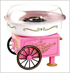 Commercial Cotton Candy Maker Machine Party Vintage Collection Hard Sugar Pink