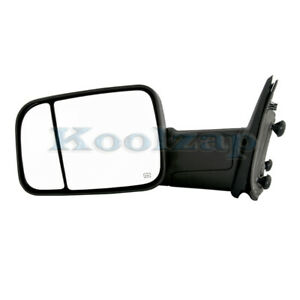 09 12 Ram Pickup Truck Power Heated W Signal Puddle Lamp Mirror Left Driver Side