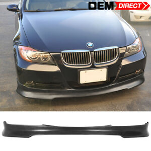 For 05 08 Bmw E90 3 Series C Style Front Bumper Lip Spoiler