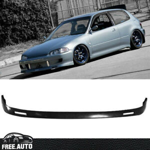 For Honda Civic 1992 1995 Bys Style Front Bumper Lip Pu