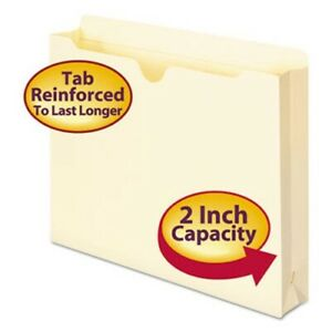 Smead 2 ply Top File Jackets 2 Expansion Letter 11 Point 50 box smd75560