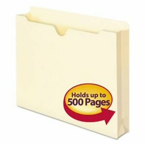 Smead File Jackets W 2 Expansion Letter 11 Point 50 Per Box smd75470
