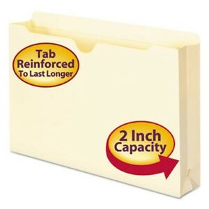 Smead File Jackets 2 ply Top 2 Expansion 11 Point 50 Per Box smd76560