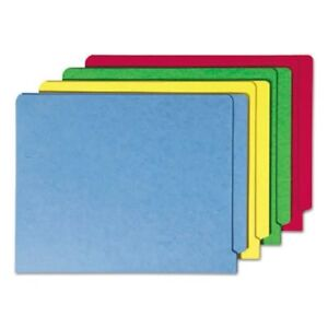 Smead Colored File Folders Straight End Tab Assorted 100 Per Box smd25013