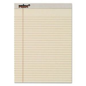 Tops Prism Colored Writing Pads Letter Ivory 12 50 Sheet Pads top63130