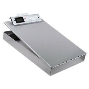 Saunders Aluminum Clipboard 1 Capacity Holds 8 1 2w X 12h Silver sau11025