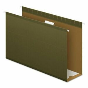 Pendaflex 4 Capacity Hanging Folders Kraft Legal Green 25 box pfx4153x4