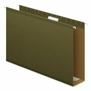 Pendaflex 3 Extra Capacity Hanging Folders Legal Green 25 box pfx4153x3