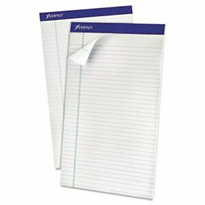 Ampad Recycled Perforated Top Pad Legal 50 sheet Pads Dozen top20180