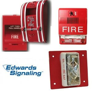 Edwards Fire Alarm Devices pick Model Strobe Backbox Speaker Horn Pullstation
