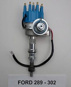 Small Block Ford 289 302 Blue Small Hei Distributor Ready To Run Electronic