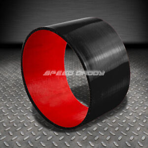 3 5 3 Ply Straight Turbo Intake Intercooler Piping Silicone Coupler Hose Red