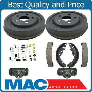 Rear Brake Drum Drums Shoes Spring Kit Wheel Cylinder 01 03 Chrysler Pt Cruiser