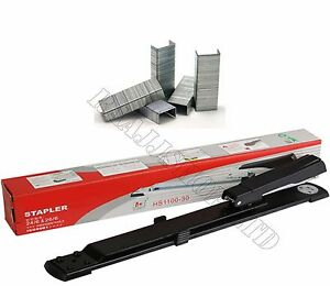 Premium Quality Long Arm Stapler Free 3000 Staples Upt0 25 Sheets Boxed Packed