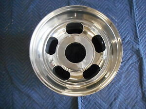 Vintage Posi I Traction 9 3 4x16 5 Polished Mag Blank Never Drilled Rare 1