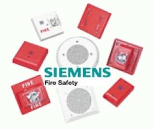 Siemens Fire Alarm Ceiling Or Wall Speaker Strobe Or Outdoor pick Mod new