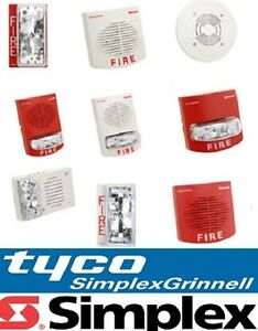 Tyco Simplex Speakers strobes new Fire Alarm Pick Model 9717 9721 9104 9331