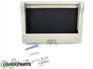Chrysler Town Country Grand Caravan C v Overhead Console Storage Lid Front Oem