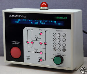 Praxair Up100 Ultrapurge Gas Cabinet System Controller