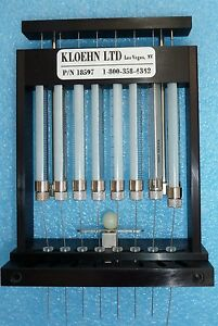 Kloehn 18597 8 Ganged Syringe Gel Loader Fits Abi Prism Dna Sequencer