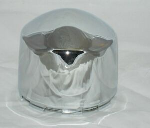Weld Dome Bullet Style Chrome Wheel Rim Center Cap Replaces 614 4942 Pwa 4 Tall