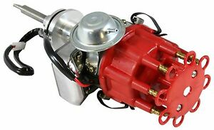 Red Cap Big Bock Mopar Ready To Run Electronic Distributor Bbm 413 426 Wedge 440