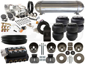 Complete Air Ride Suspension Kit 1965 1970 Cadillac Deville Level 3 3 8