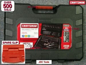 Empty New Craftsman 230 Pc Piece Socket Wrench Bit Kit Set Empty Case 99920
