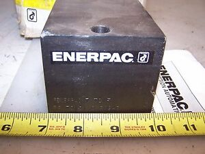 New Enerpac 1 2 Port Hydraulic Single Acting Cylinder Bs180201 17 5 Ton F