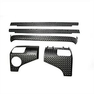 Rugged Ridge 5 Piece Body Armor Kit For 07 18 2 Door Jeep Jk Wrangler 11651 51