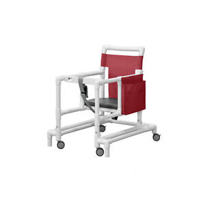 Ultimate Pvc Walker Maroon 1 Ea