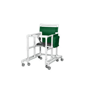 Oversize Ultimate Pvc Walker Mobility Aid Forest Green 1 Ea