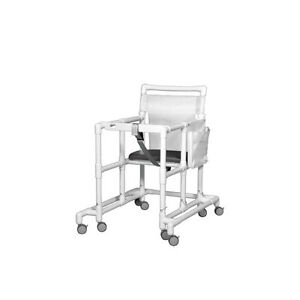 Oversize Ultimate Pvc Walker Mobility Aid White 1 Ea