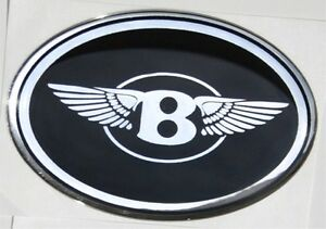 Fits Chrysler 300 Bentley B With Wings Mesh Grille Grill Emblem Badge
