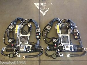 Scott 2 2 Ap50 Air Pack Intigrated Pass Scba Harness 1997 Edition Air Pak
