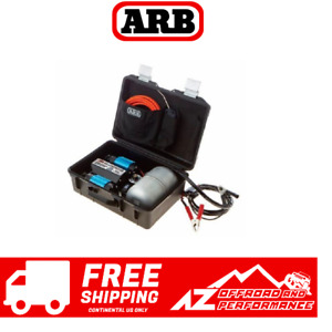 Arb Twin Motor Portable 12v Air Compressor Universal Ckmtp12