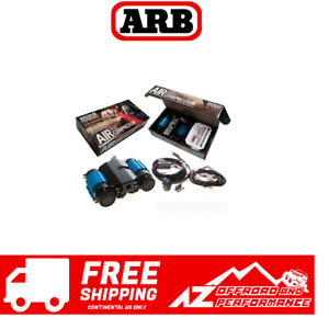 Arb Twin Motor On Board 12v Air Compressor Universal For Jeep Other Ckmta12
