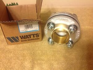 Watts 2 1 2in Dielectric Flanged Fitting Lf3100m3