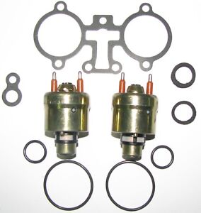 Set Of Two Hi flow Tbi police Special Fuel Injectors For 5 0l Gms 1987 1992