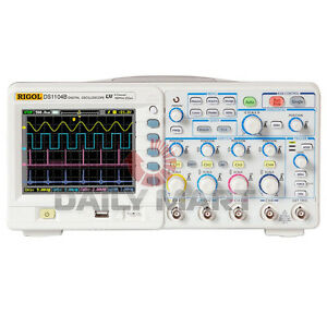 New Rigol Ds1104b 100 Mhz Digital Oscilloscope 4 channel