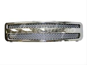 Grille Chrome Black For 2007 2013 Silverado 1500 New Style