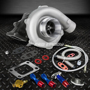 T04e T3 T4 A R 63 57 Trim 400 Hp Stage Iii Turbo Charger Oil Feed Drain Line Kit