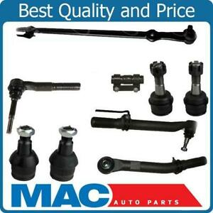 05 16 Ford F250 F350 Super Duty Outer Tie Rod Ends Drag Link Ball Joints 4wd 9pc
