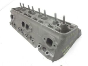 Chevy Oe 283 Sbc 549 Bare Cylinder Head Staggered V c Holes D 15 9 1958 1959