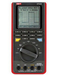 Ut81b Backlight Lcd Handheld Digital Scope Multimeter Meter Tester Ut 81b