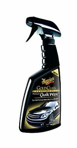 Meguiar S G7716 Gold Class Carnauba Plus Premium Quik Wax 16 Oz
