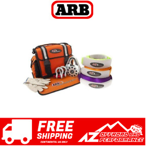 Arb Premium Recovery Kit W Snatch Block And Recovery Strap Universal Rk9