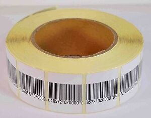 Eas Anti theft Checkpoint Security Soft Label Tag 2000pcs Rf 8 2 Mhz 30mmx40mm
