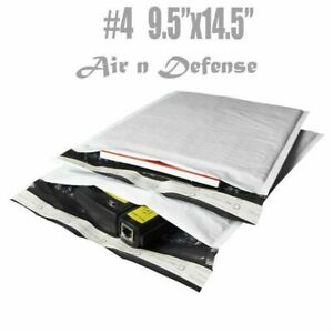 100 4 9 5x14 5 Poly Bubble Padded Envelopes Mailers Shipping Bags Airndefense
