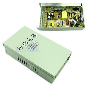 New Rain proof Outdoor Dc 12v 33a 400w Voltage Transformer Switch Power Supply
